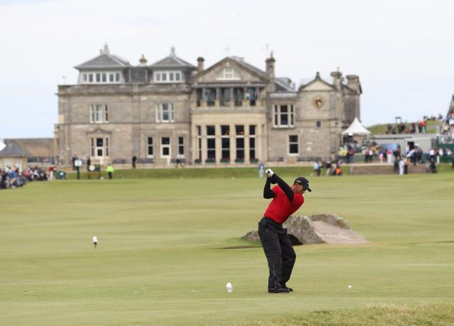 Tiger Woods en St. Andrews
