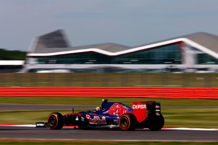 Toro Rosso en Silverstone