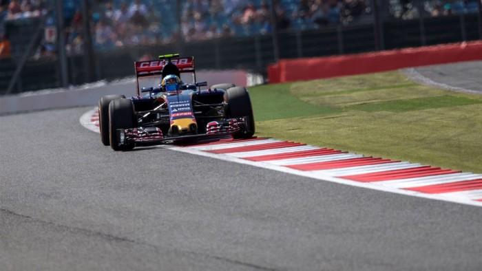 Toro Rosso en el GP de Gran Bretaña