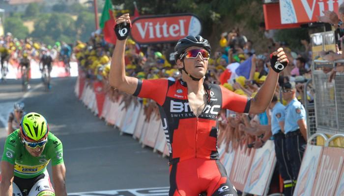 Van Avermaet se estrena en el Tour de Francia