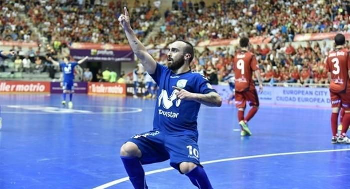 Ricardinho, mejor jugador de la LNFS por segundo año consecutivo
