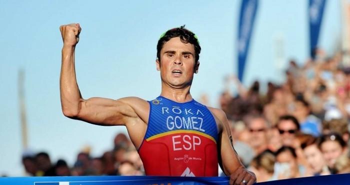 Gómez Noya amarra medio título ganando la prueba de Estocolmo