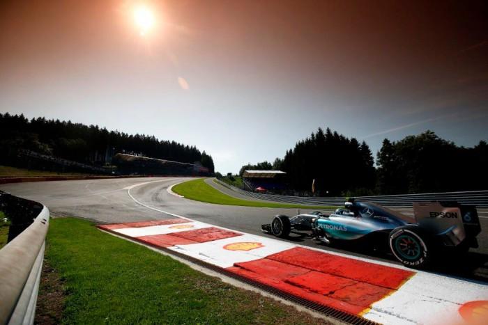 Mercedes en Spa