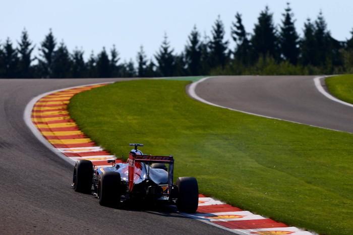 Toro Rosso en Spa