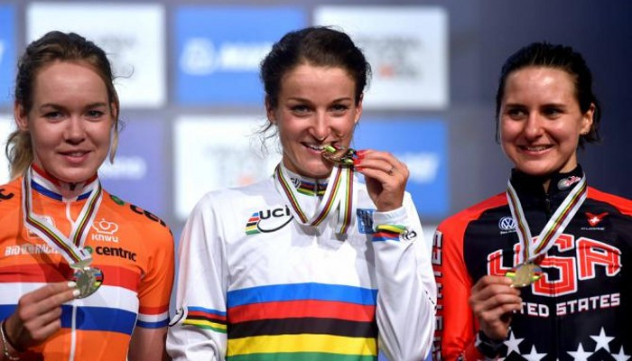 Armitstead ganó el oro en la prueba en ruta femenina