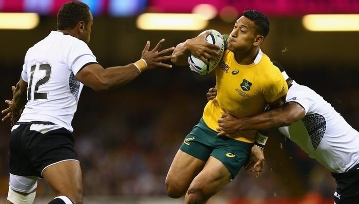 Australia debutó en el Mundial de rugby con victoria
