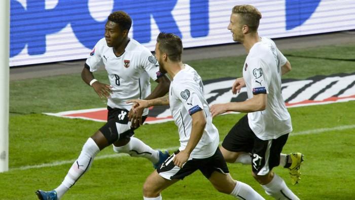 Austria jugará la Eurocopa por méritos deportivos