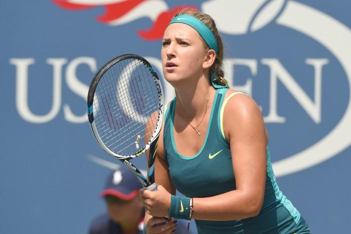 Women's singles second round match: Victoria Azarenka