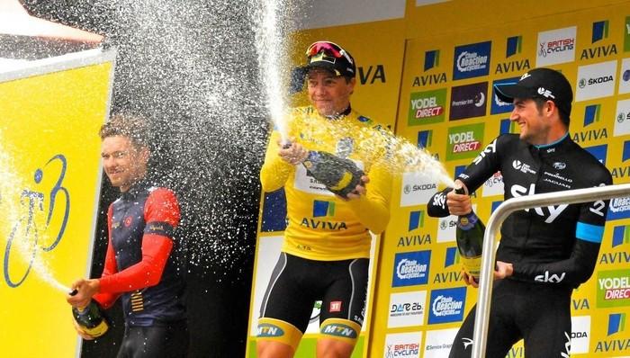 Boasson Hagen ganó por segunda vez el Tour de Gran Bretaña