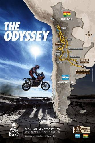 Dakar 2016 - Recorrido