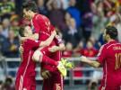 España gana 2-0 a Eslovaquia y recupera la primera posición del grupo