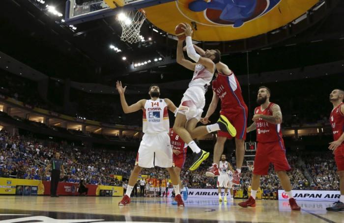 España-Serbia en el Eurobasket