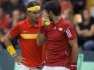 Copa Davis 2015: España pone el 0-3 tras la victoria de Nadal y Verdasco en dobles