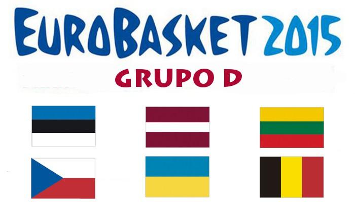 Estonia, Letonia, Lituania, Repúblic Checa, Ucrania y Bélgica conforman este abierto Grupo D