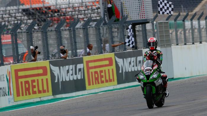 Rea ganó en Jerez su primer título de Superbikes