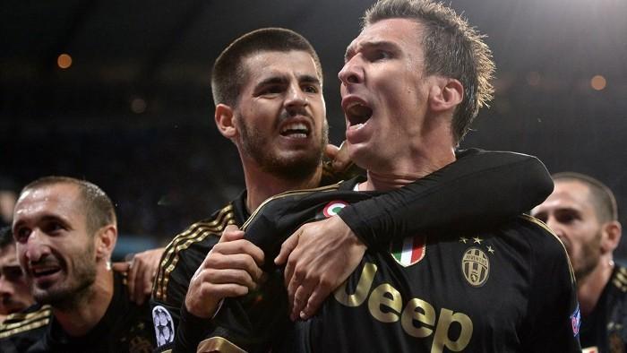 Mandzukic y Morata marcaron ante el City