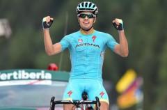 Vuelta a España 2015: Mikel Landa gana la etapa y Fabio Aru toma el liderato