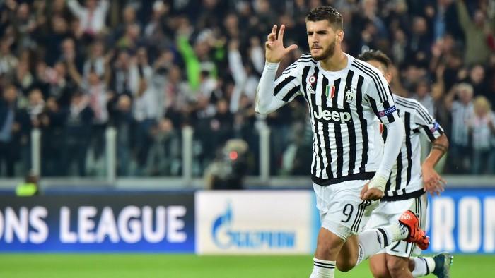 Morata sigue haciendo goles con la Juve