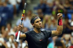 US Open 2015: Rafa Nadal y siete españoles a segunda ronda