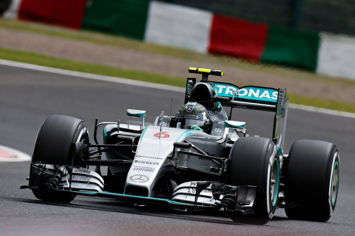 GP de Japón 2015 de Fórmula 1: pole para Rosberg, Sainz 12º y Alonso 14º
