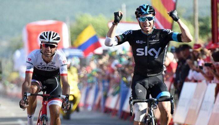 Roche gana la etapa a Zubeldia y Dumoulin mantiene el rojo