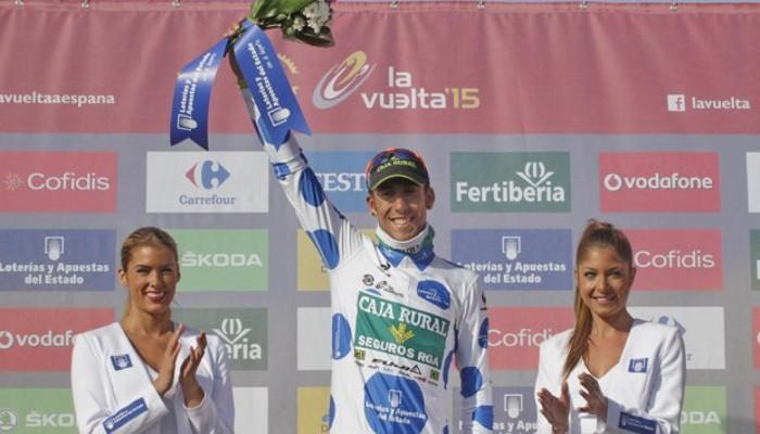 Omar Fraile ganó la montaña en la Vuelta 2015