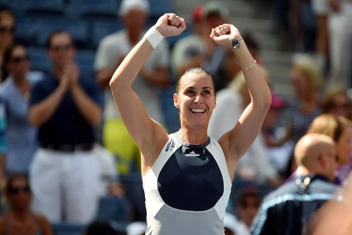 Flavia Pennetta - Petra Kvitova Women's Singles Quarterfinal
