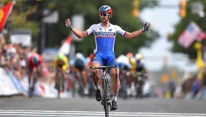 Sagan es el nuevo campeón del mundo de ciclismo