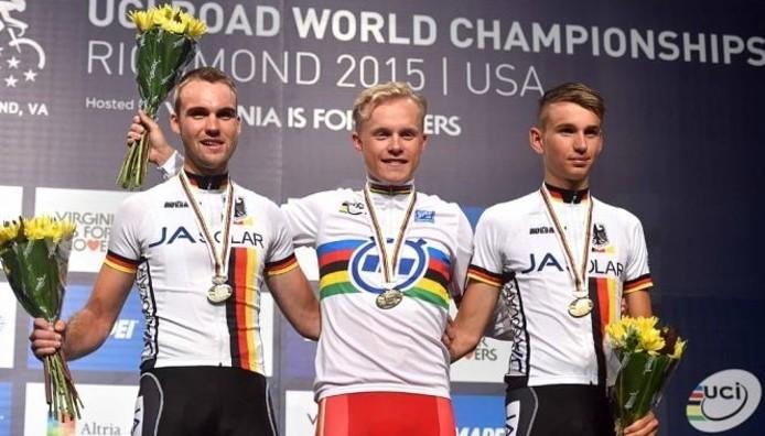 Wurtz Schmidt ganó el oro en contrarreloj en categoría sub 23