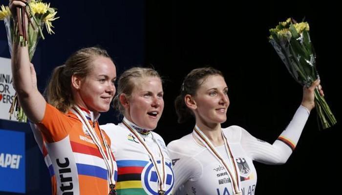 Villumsen ganó por fin el oro en la contrarreloj femenina