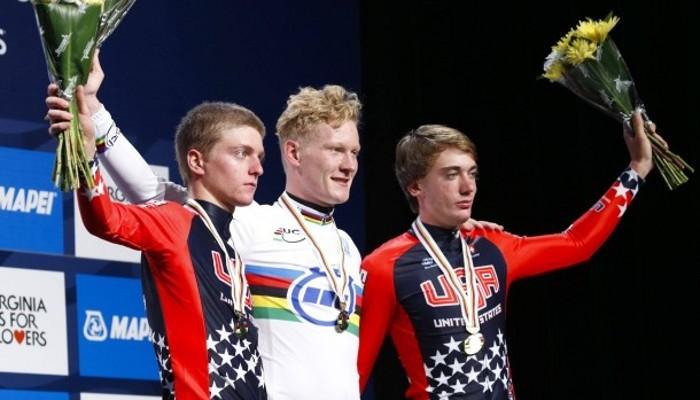 El alemán Appelt ganó el oro en la crono junior masculina