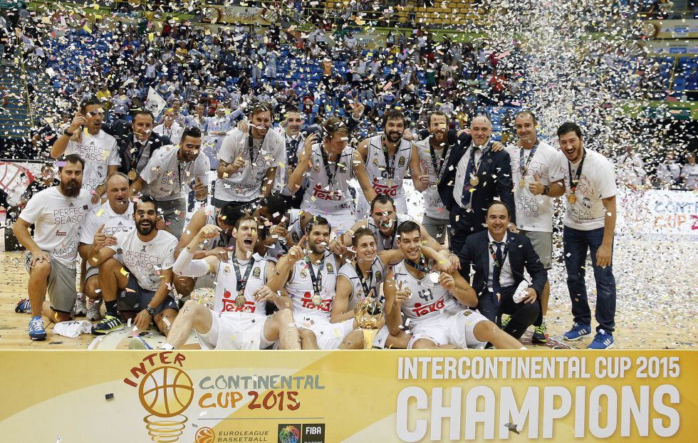 El Real Madrid gana la Copa Intercontinental de baloncesto