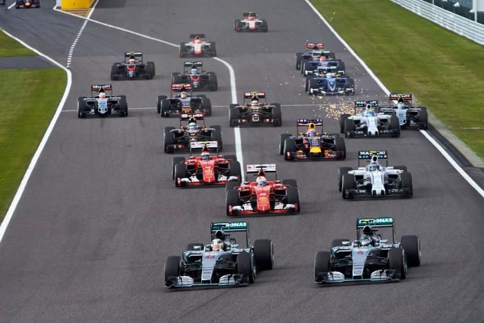 Salida GP de Japon