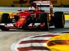 GP de Singapur 2015 de Fórmula 1: victoria de Vettel, Sainz 9º, abandonos de Alonso y Hamilton