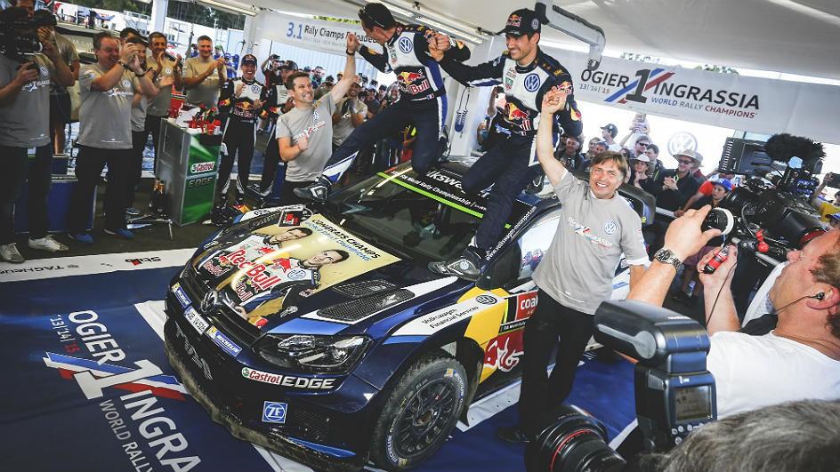 Rally de Australia: Sébastien Ogier gana y certifica su tercer título, Dani Sordo 8º