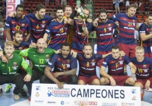 El Barcelona gana su cuarta Supercopa ASOBAL consecutiva