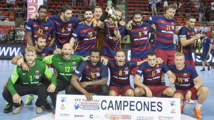El Barcelona ganó la Supercopa ASOBAL por cuarto año consecutivo