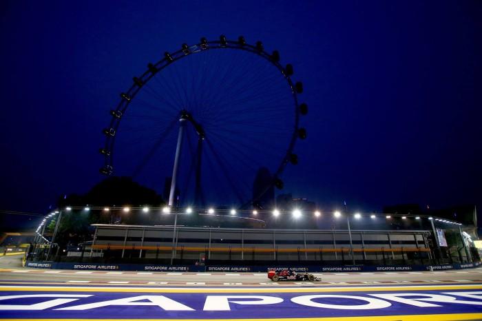 Toro Rosso en Singapur