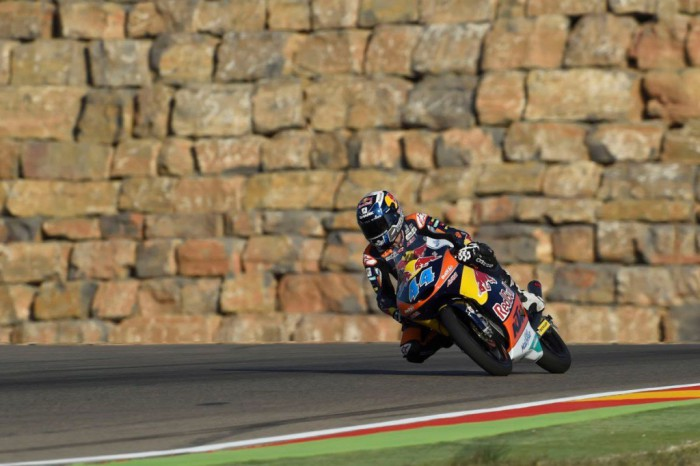 Oliveira, Aragon Moto3 2015
