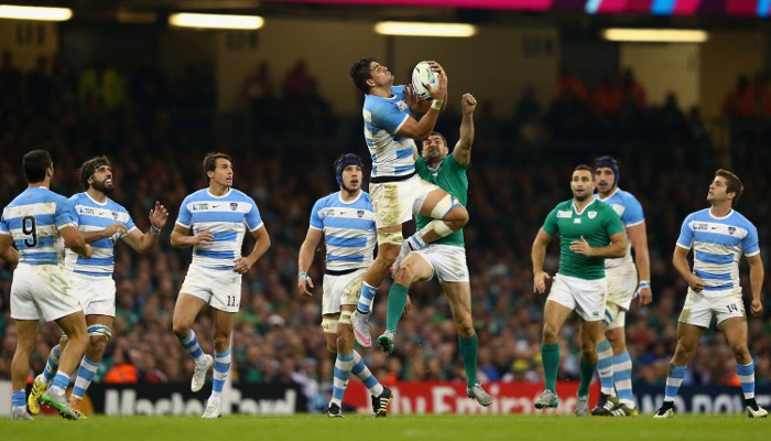 Argentina se metió en semis del Mundial de rugby