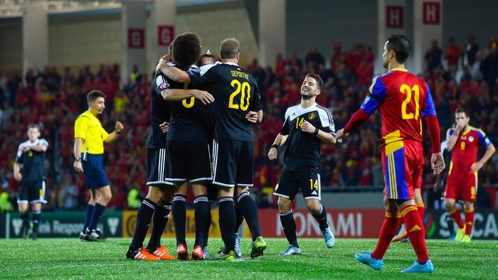 Bélgica estará en la Eurocopa de 2016