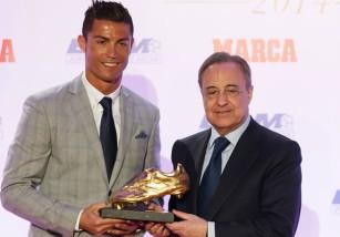 Cristiano Ronaldo recibe su cuarta Bota de Oro