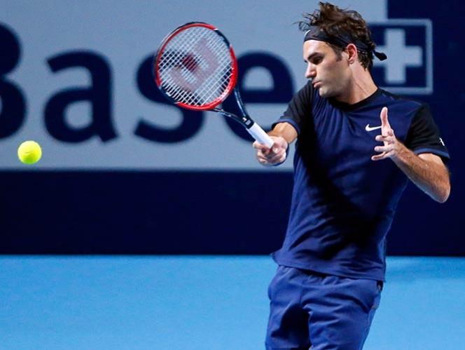 Federer a segunda ronda en Basilea