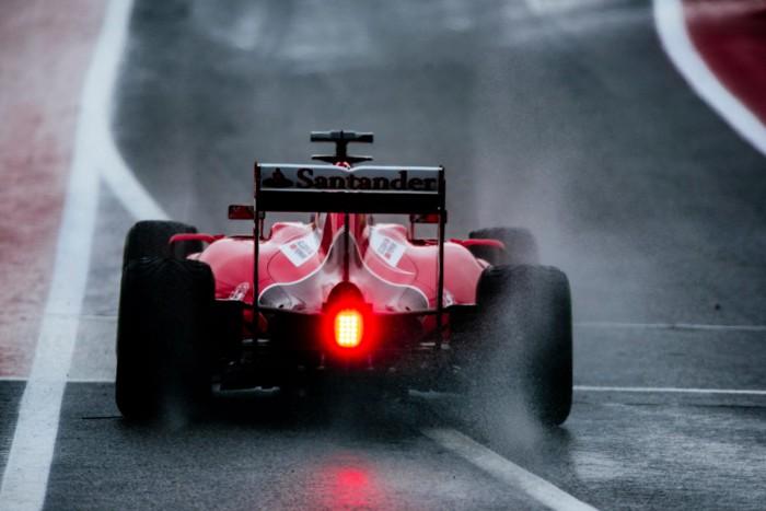 Ferrari en el GP de Estados Unidos