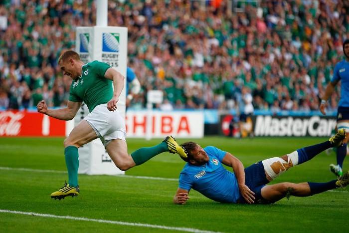 Irlanda superó a Italia y se aseguró plaza en cuartos