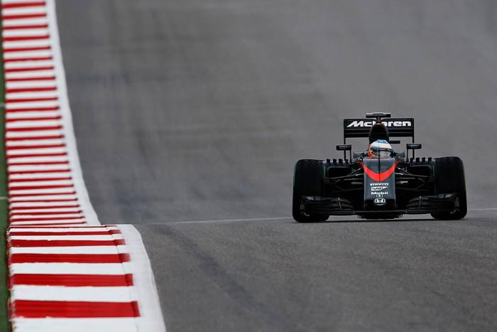 McLaren en Austin