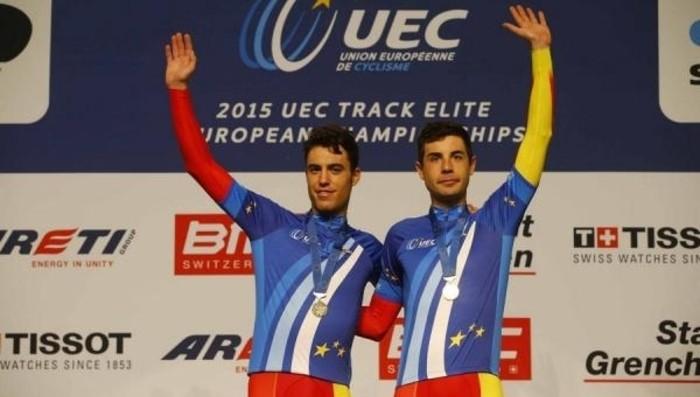 Mora y Torres ganaron el oro en madison