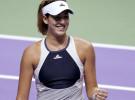 Masters de Singapur 2015: Garbiñe Muguruza a semifinales en singles y en dobles con Carla Suárez