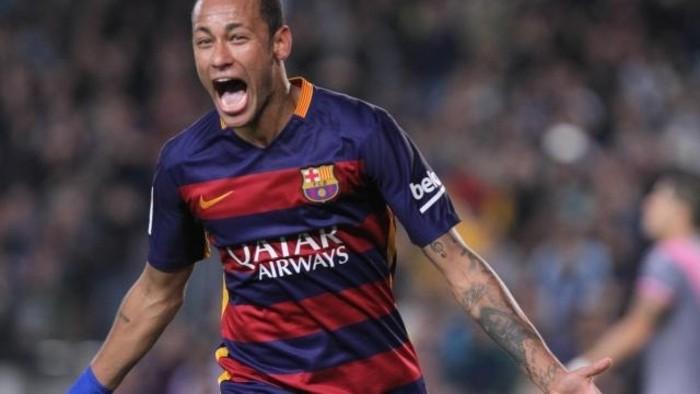 Neymar le marcó cuatro goles al Rayo