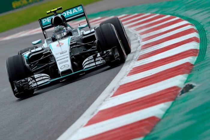 Nico Rosberg consigue la pole en Mexico